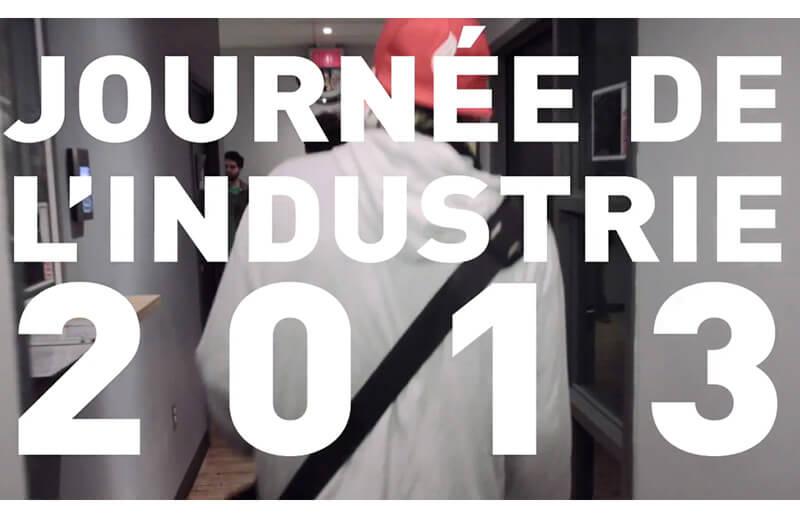 Événement : Journée de l'industrie 2013 – Un grand succès !