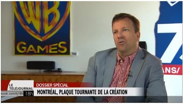 Montréal plaque tournante de la création de jeux vidéo.