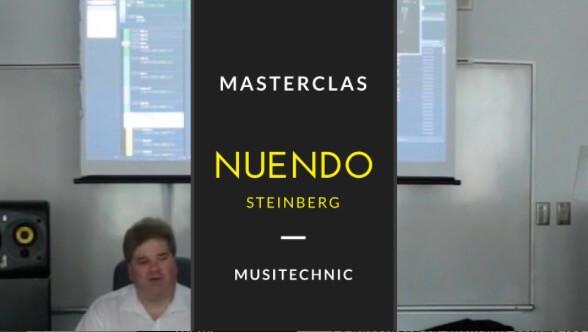 Conférences  en ligne : Nuendo World Tour