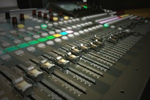 Behringer X32 faders