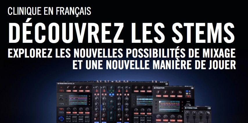Clinique STEMS de Native Instruments