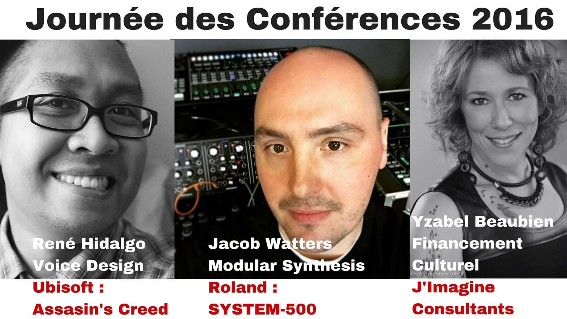 Journée des Conférences 2016