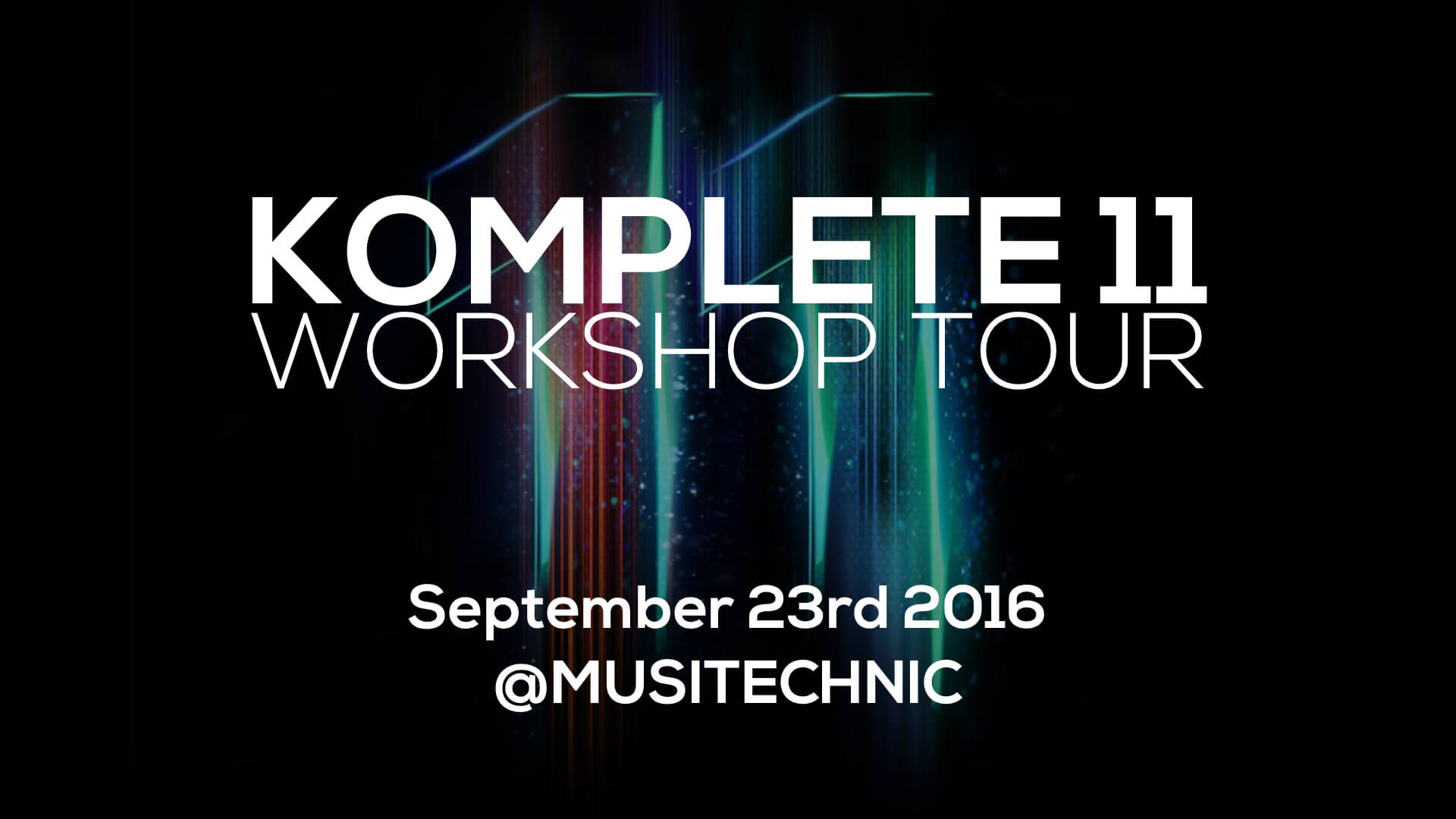Native Instruments Komplete 11 World Tour 2016