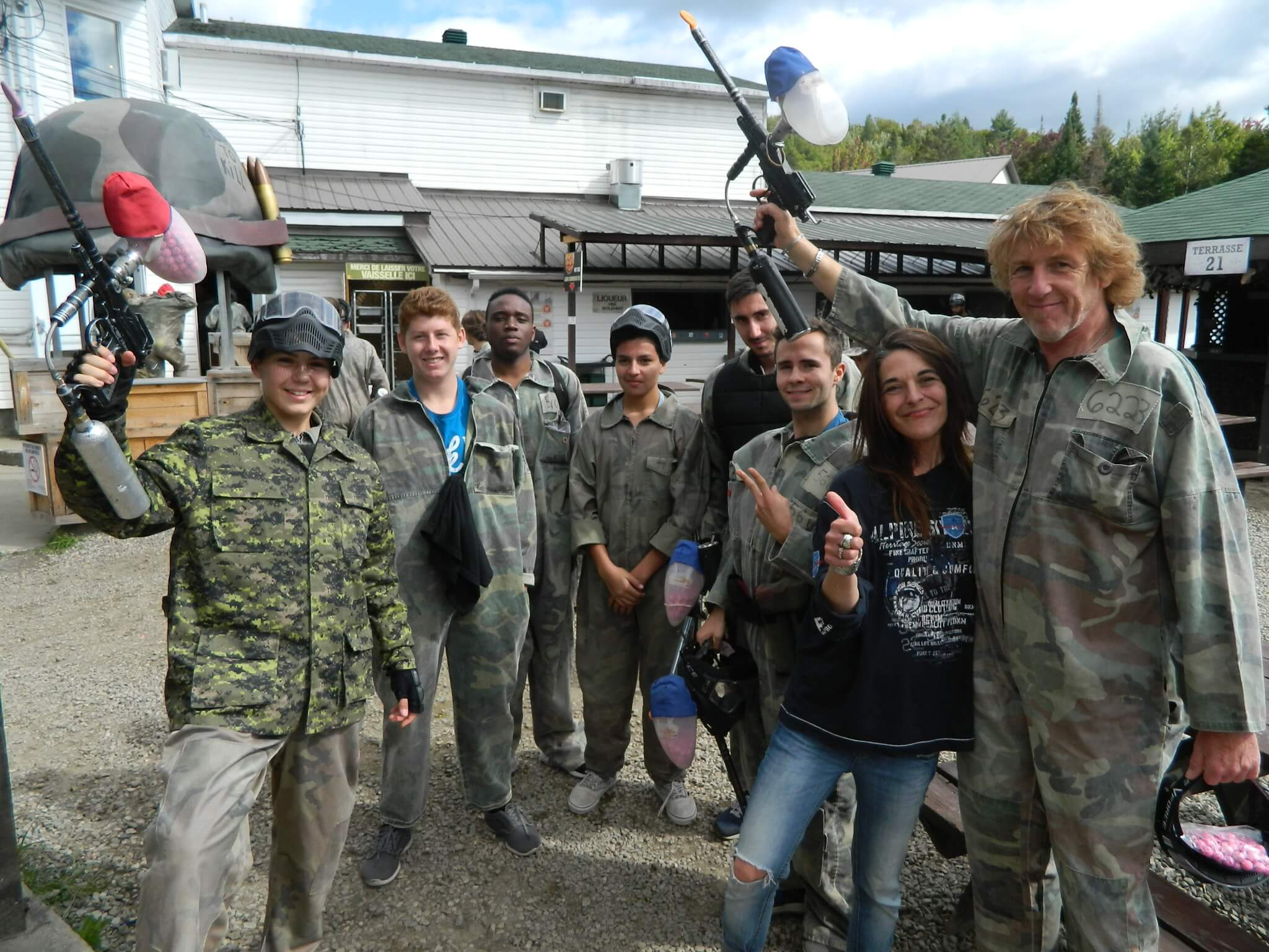 PAINTBALL'S DAY AT ST. ALPHONSE-RODRIGUEZ