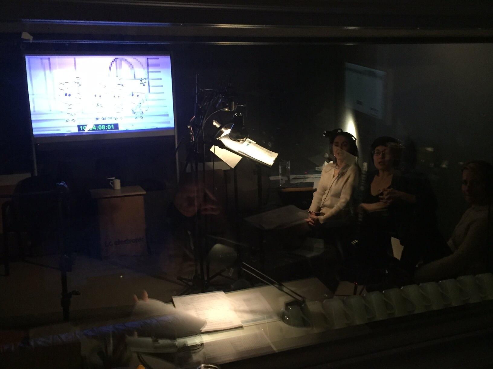 Visite des studios Les vilains garçons