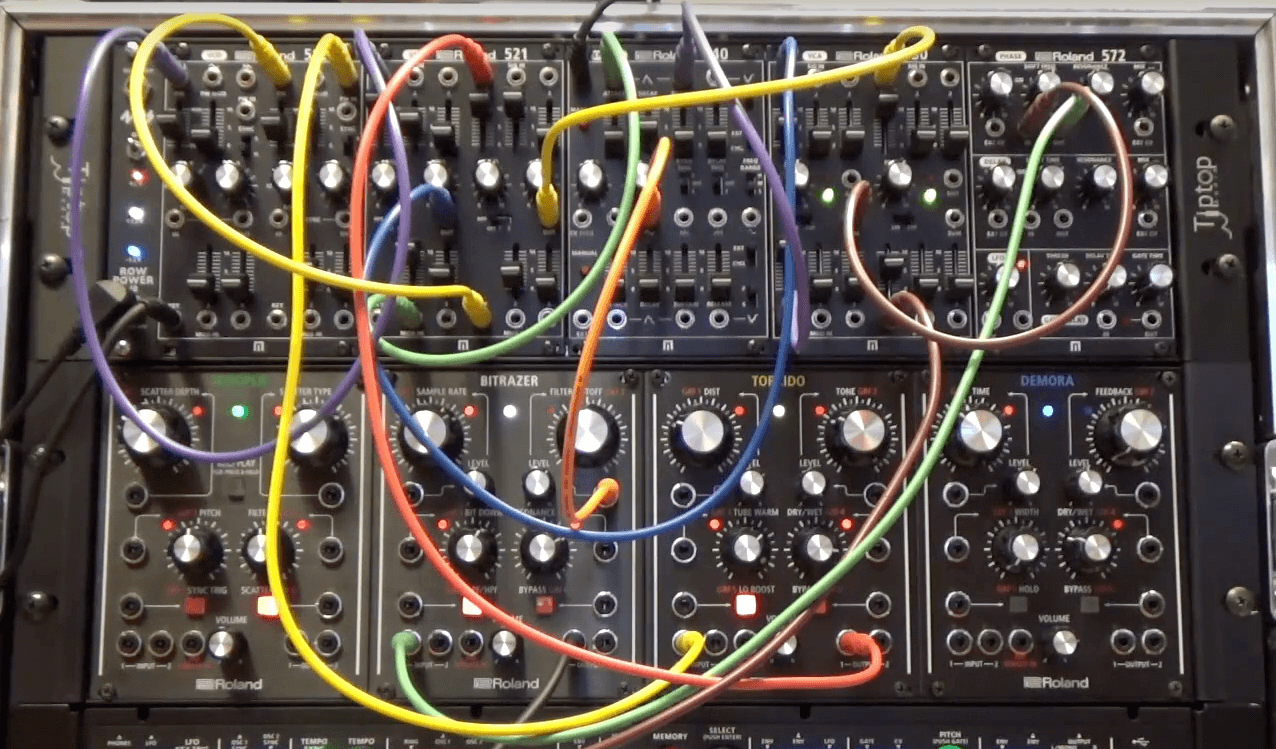 Modular Synthesis Workshop by Roland
