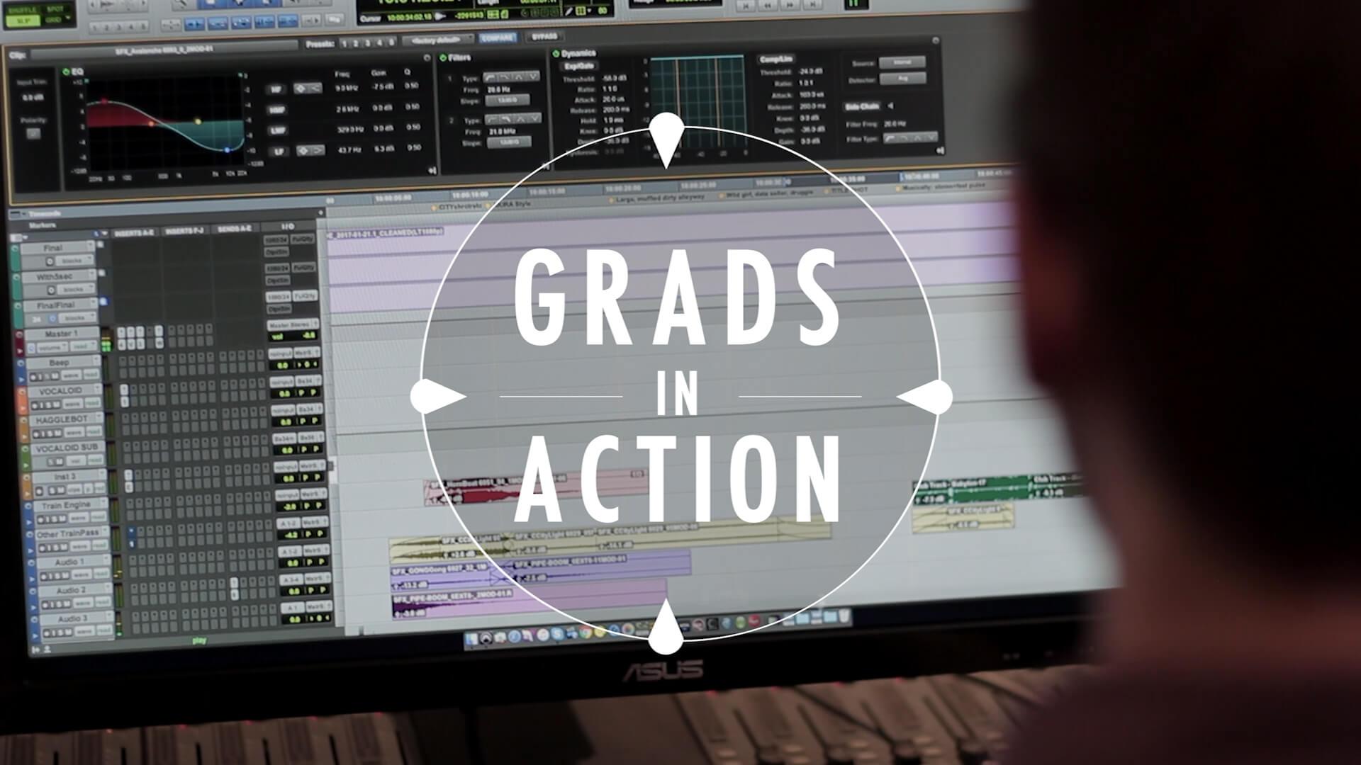 Grads in Action – Rémy Sealey et Janik Larose chez AudioZ Montréal