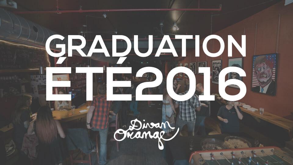 Graduation été 2016