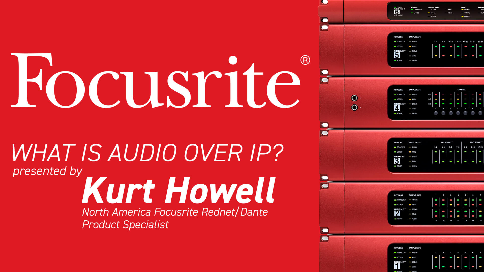 We're going LIVE with Focusrite!