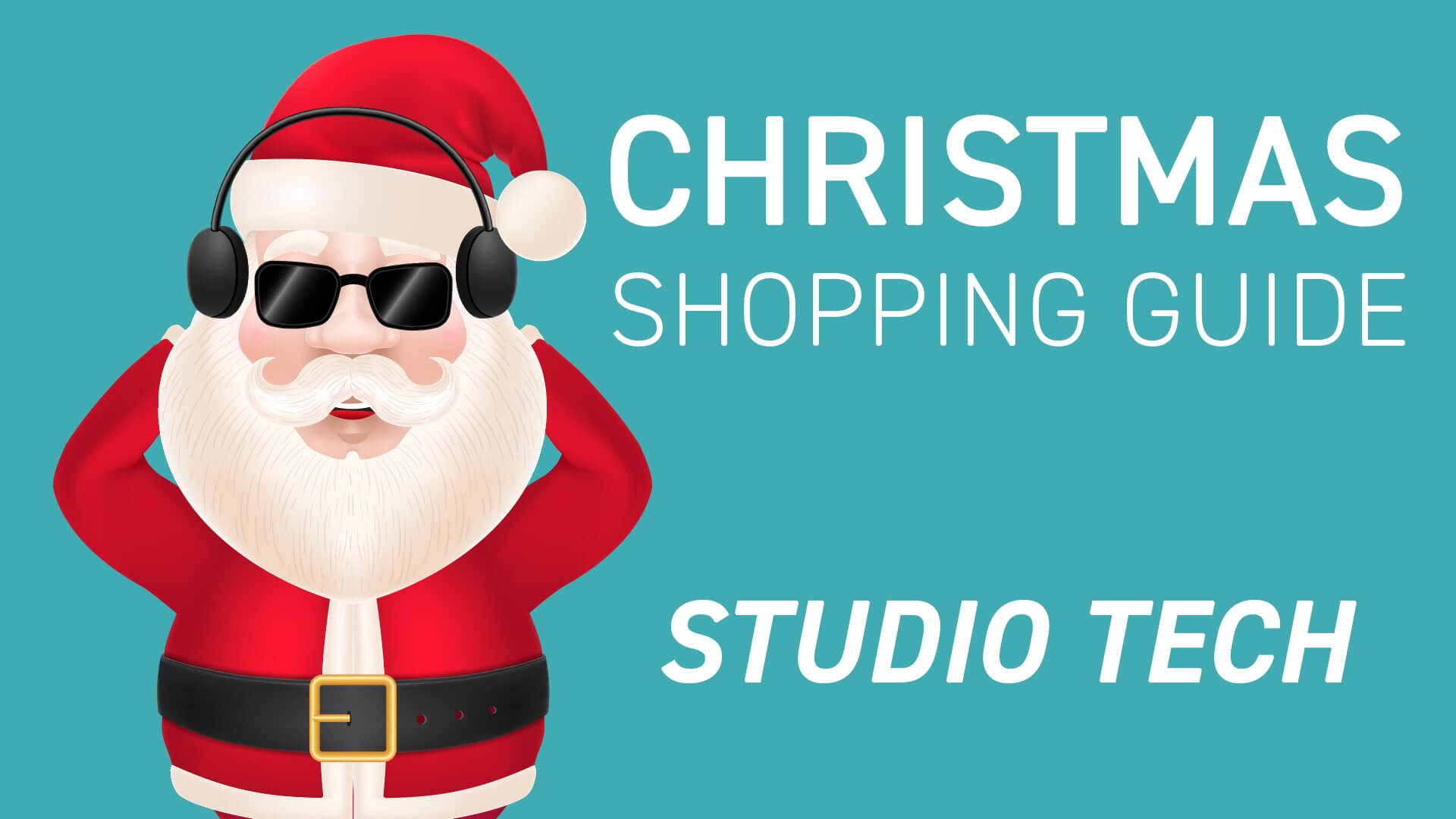 6 Christmas gifts for a Studio Tech under 100$