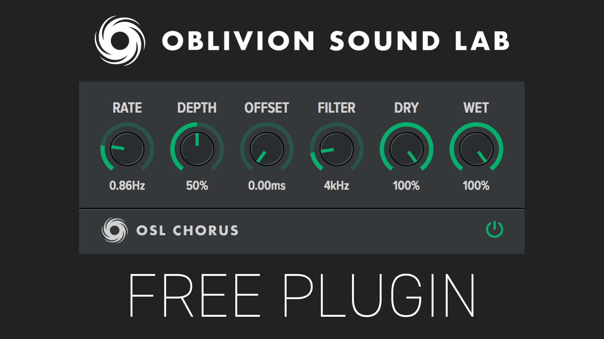 OSL Chorus by Oblivion Sound Lab Free Plugin