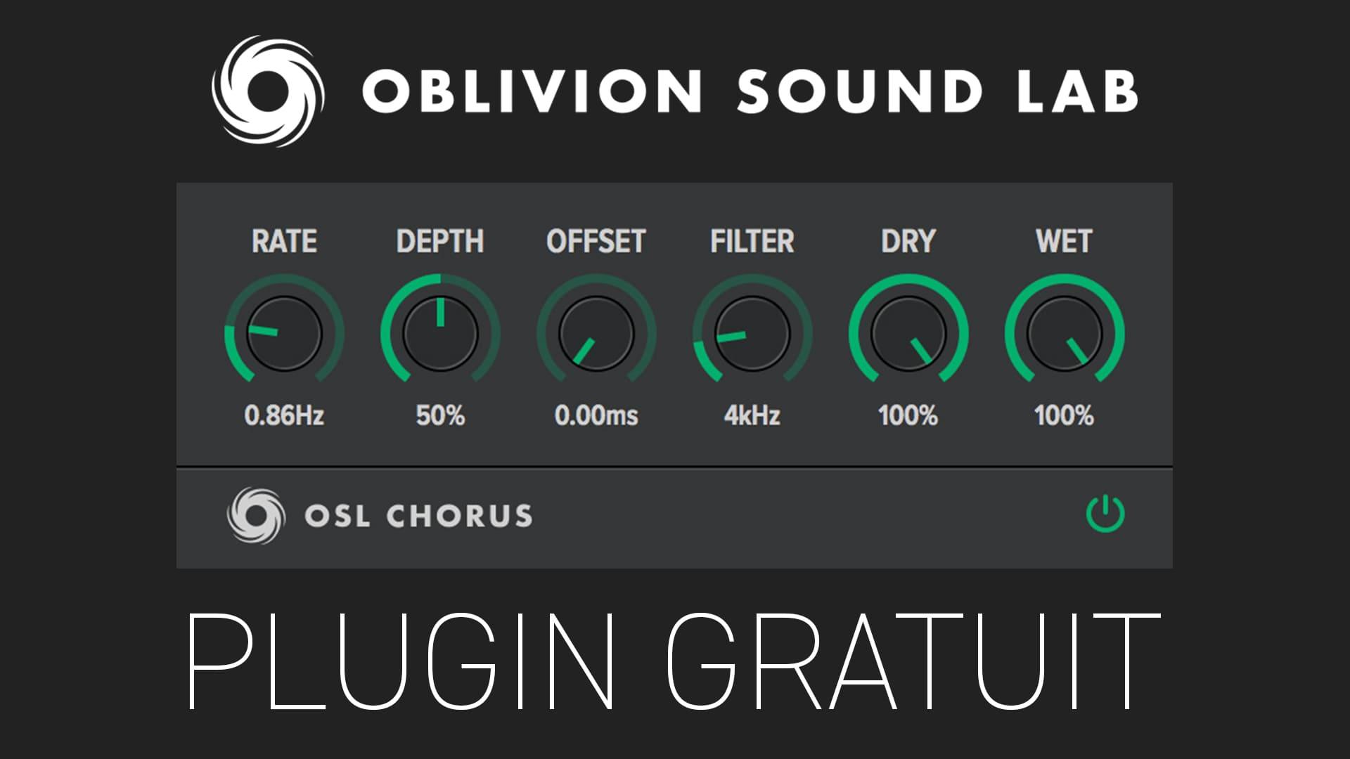 OSL Chorus de Oblivion Sound Lab Plugin Gratuit