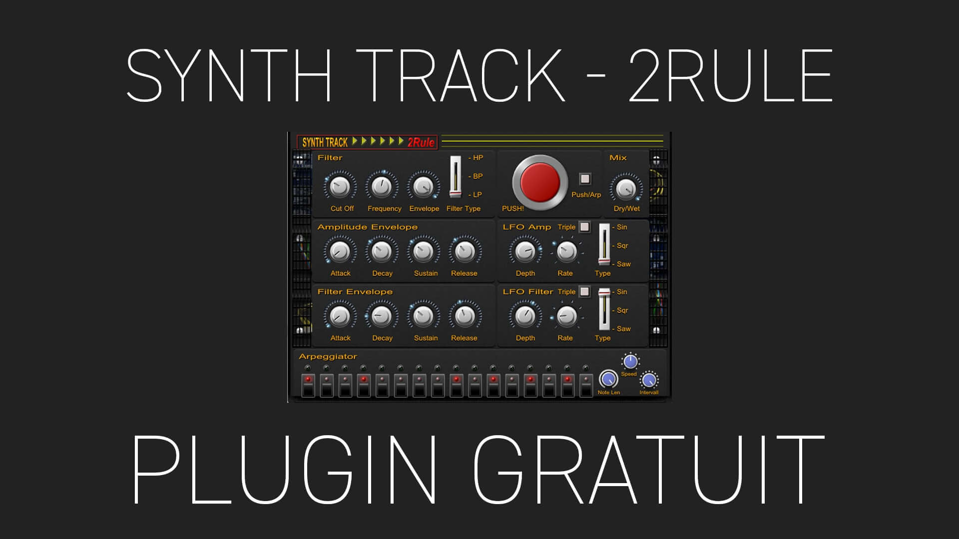 SynthTrack de 2Rule Plugin Gratuit