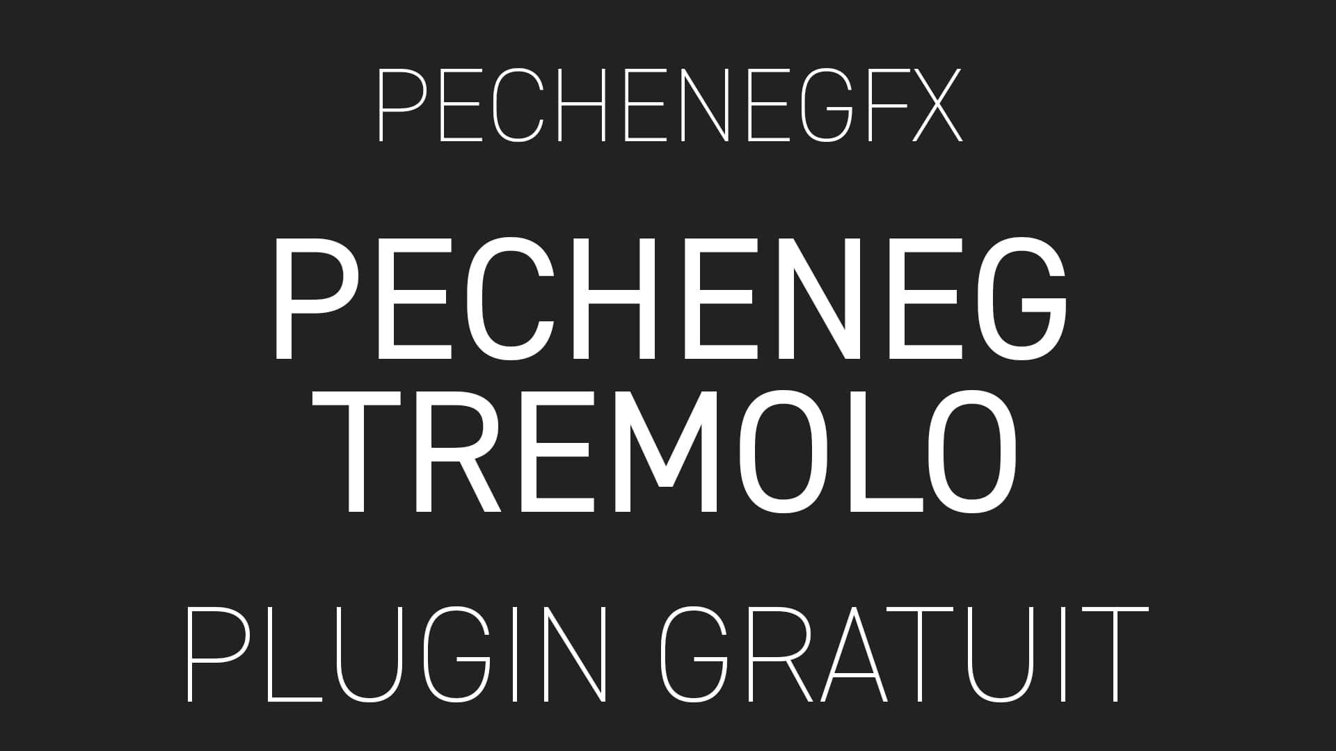 Pecheneg Tremolo de PechenegFX Plugin Gratuit