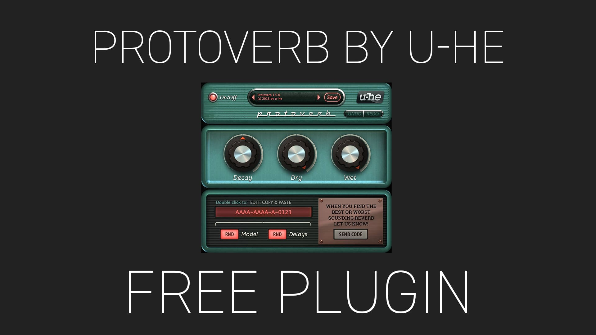 Protoverb by u-he Free Plugin