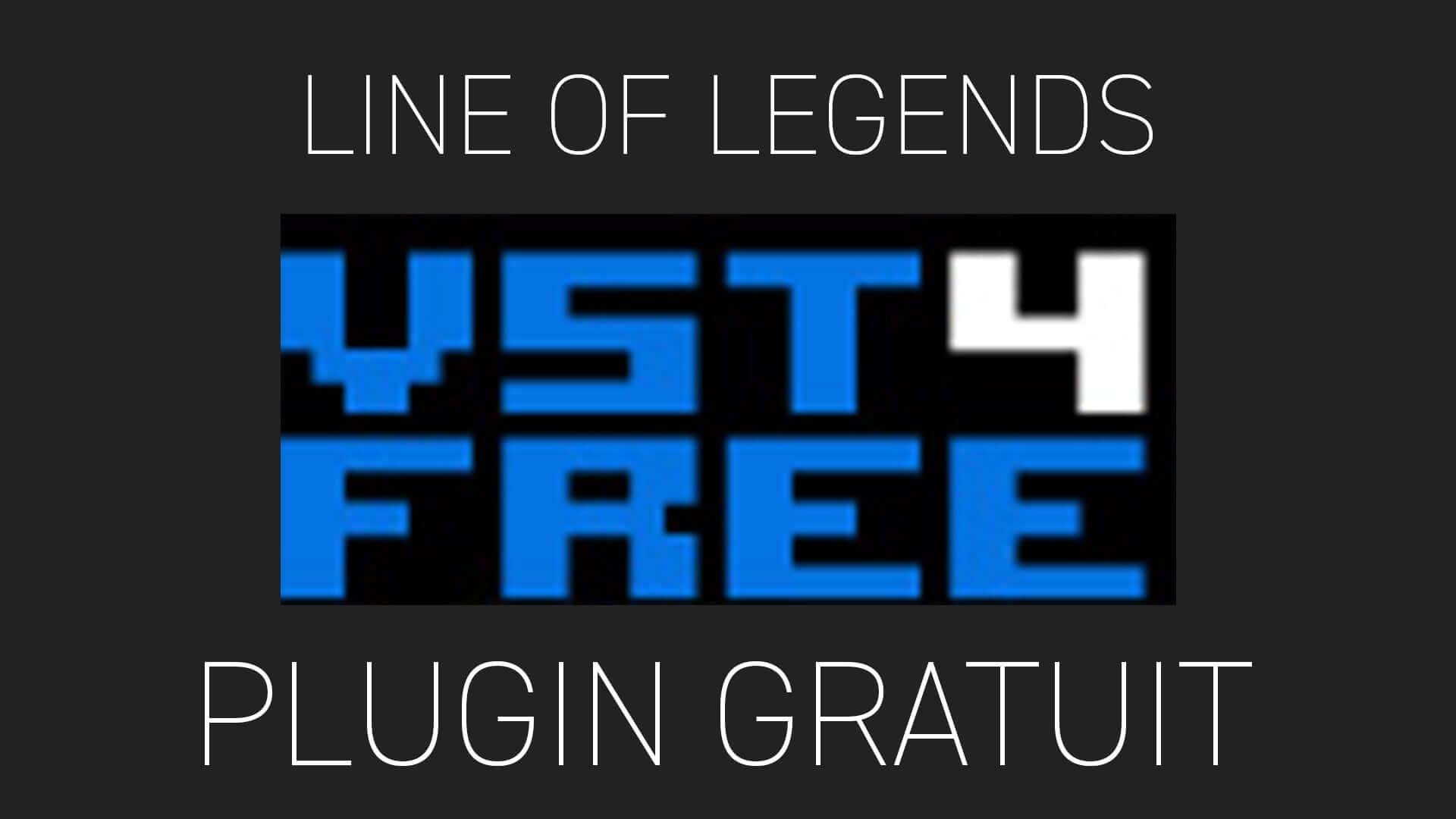 Line Of Legends de VST4FREE Plugin Gratuit