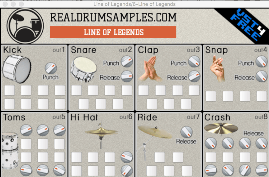 Line Of Legends by VST4FREE Free Plugin | Musitechnic