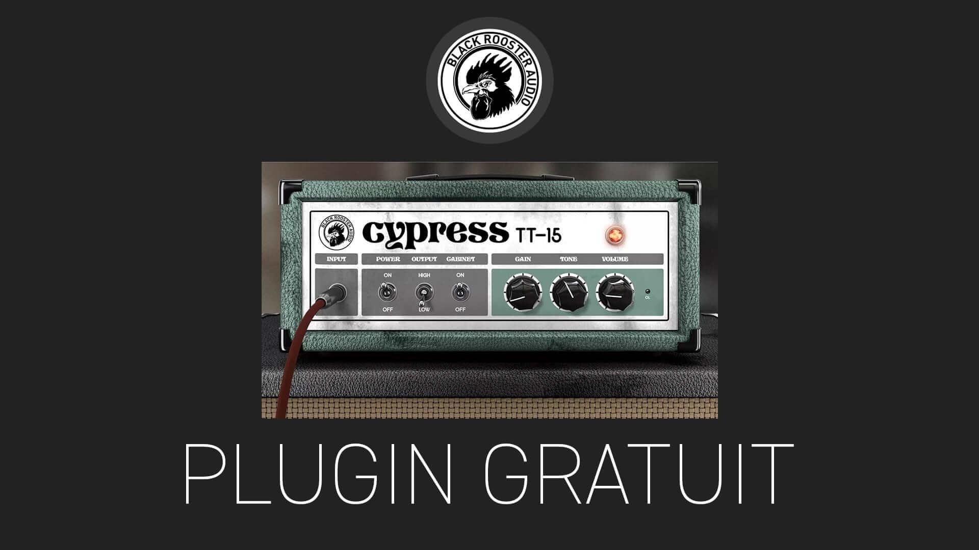 Cypresss TT-15 de Black Rooster Audio Plugin Gratuit
