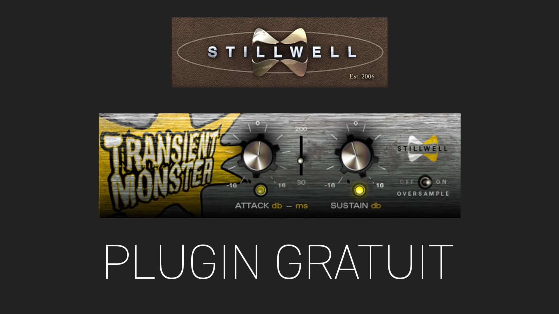 TRANSIENT MONSTER de Stillwell Plugin Gratuit