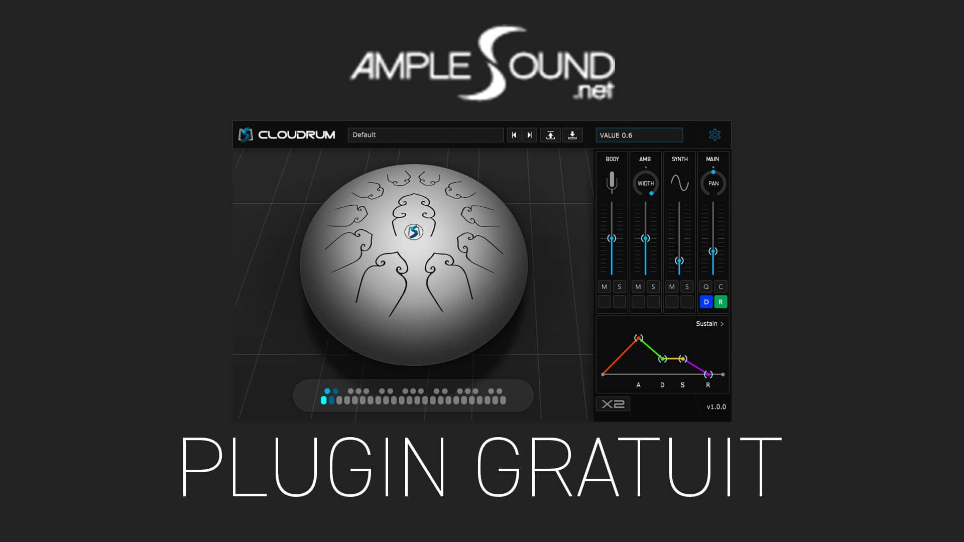 Ample Percussion Cloudrum Plugin Gratuit