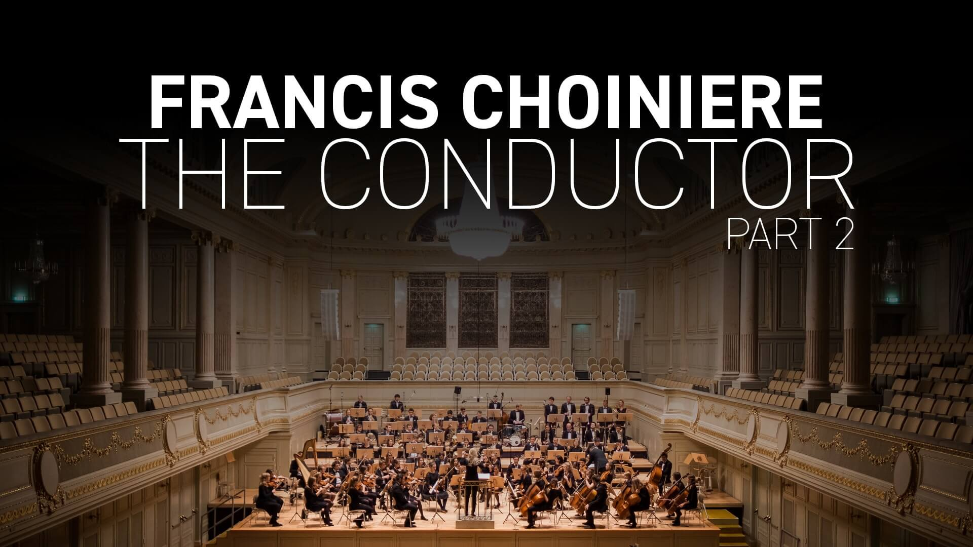 The conductor, a meeting with Francis Choiniere (part two)