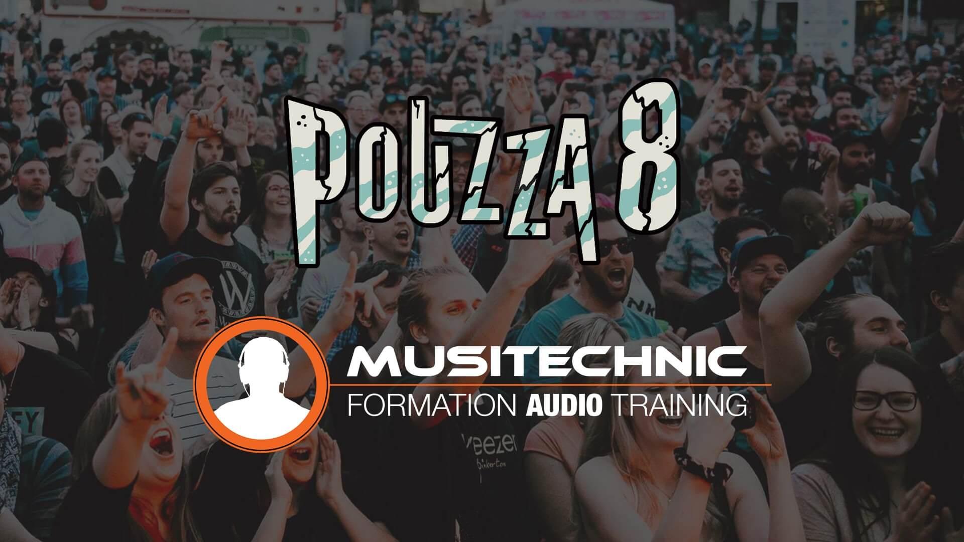 Musitechnic au Pouzza Fest : un partenariat gagnant !