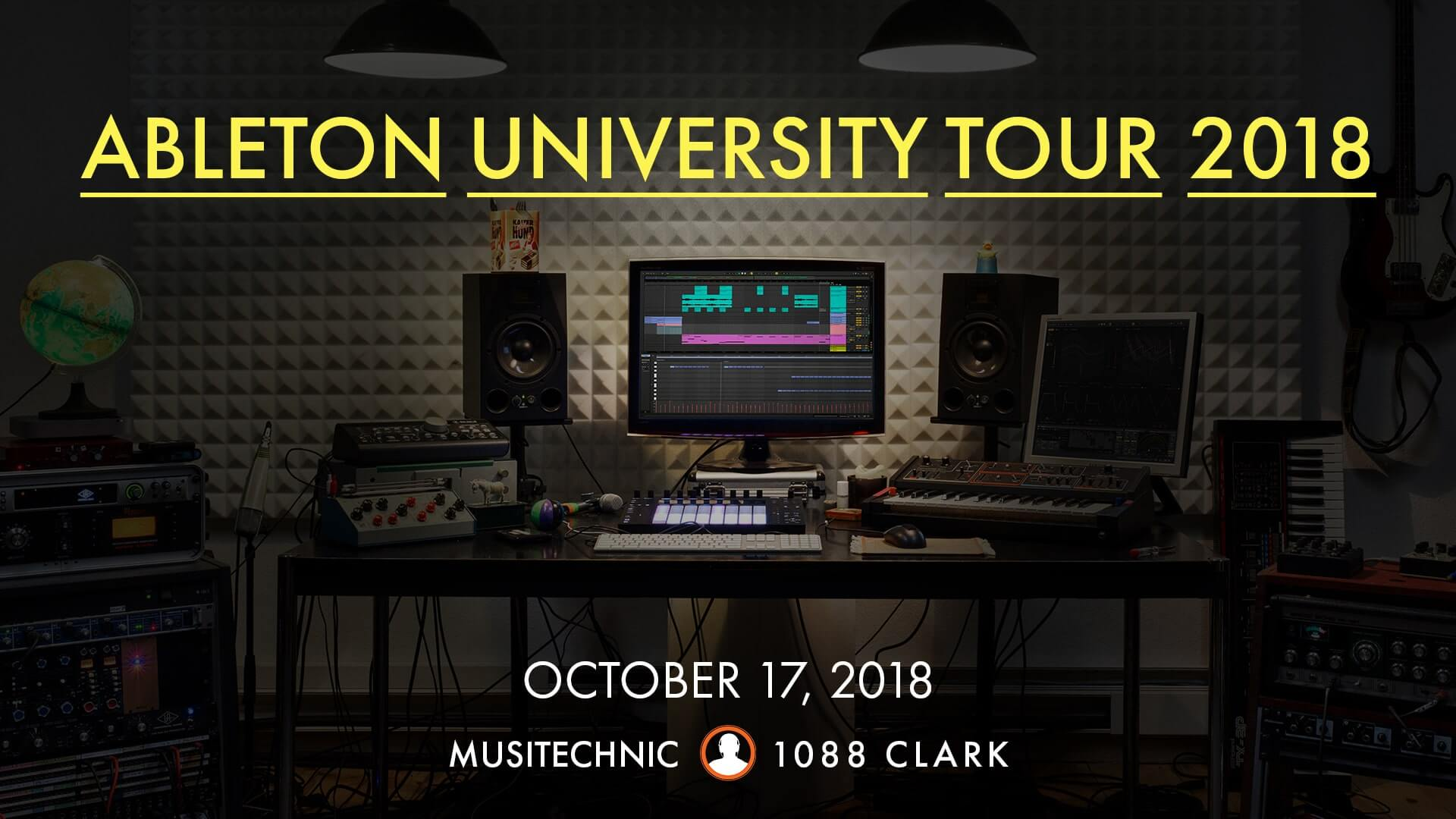 Ableton University Tour 2018 at Musitechnic