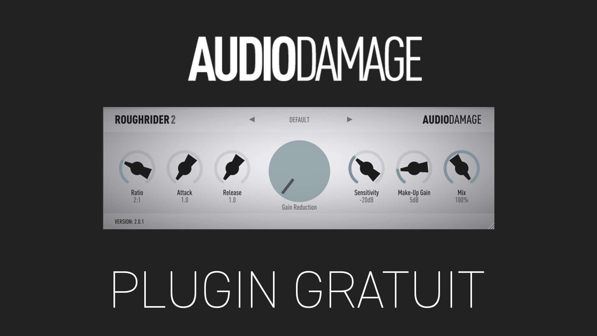 Audio Damage ROUGH RIDER 2 Plugin Gratuit