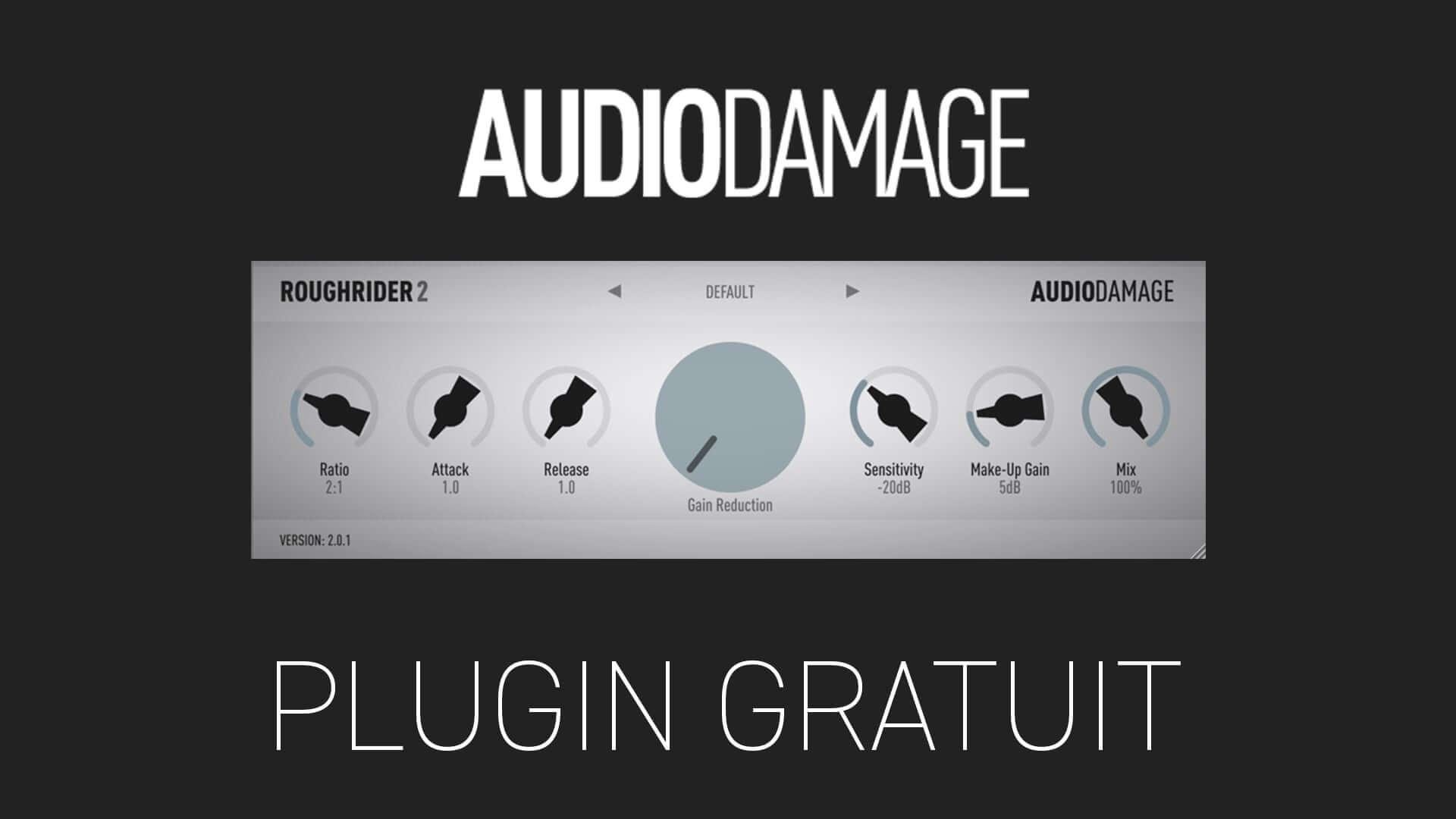 Audio Damage ROUGH RIDER 2 Plugin Gratuit