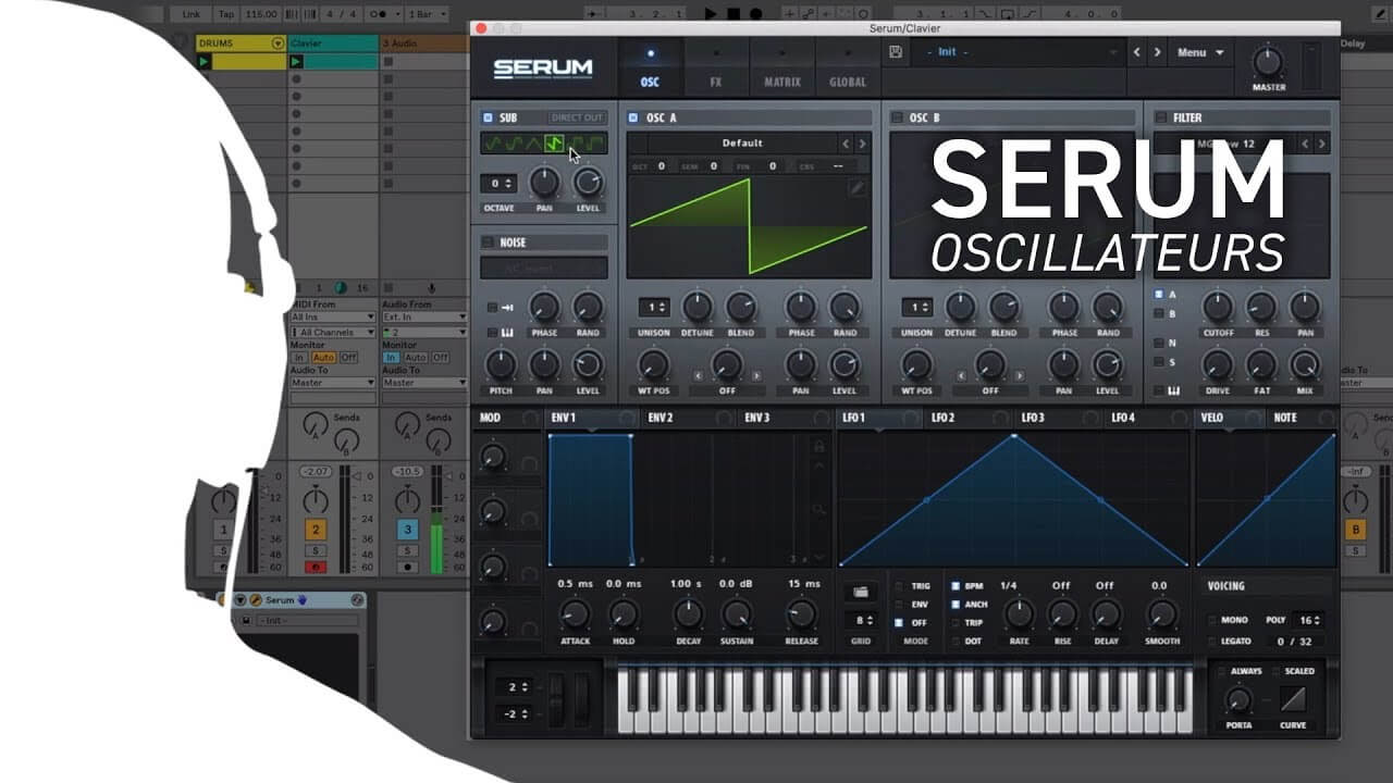 Musitechnic - Free tutorial on Serum synth by Xfer