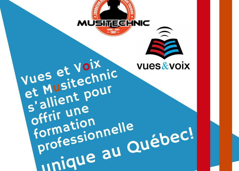 Une formation sur la production de livre audio unique au Québec