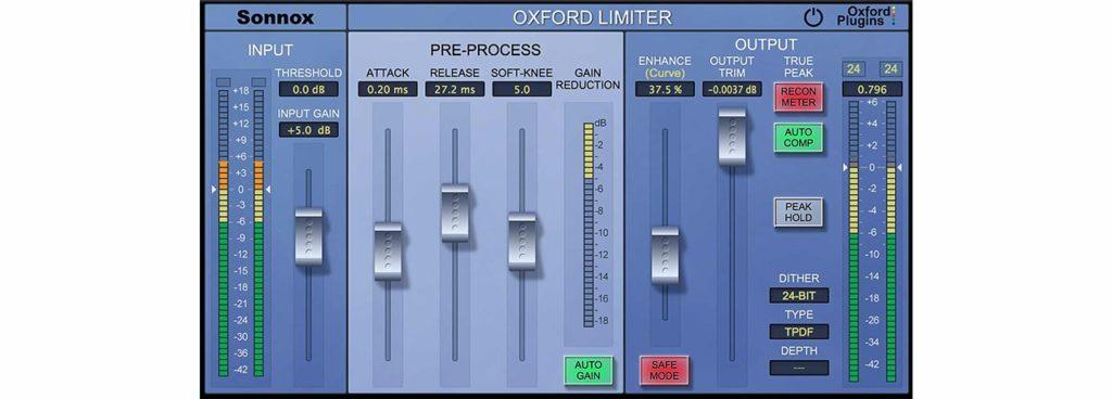 Sonnox oxford limiter UAD