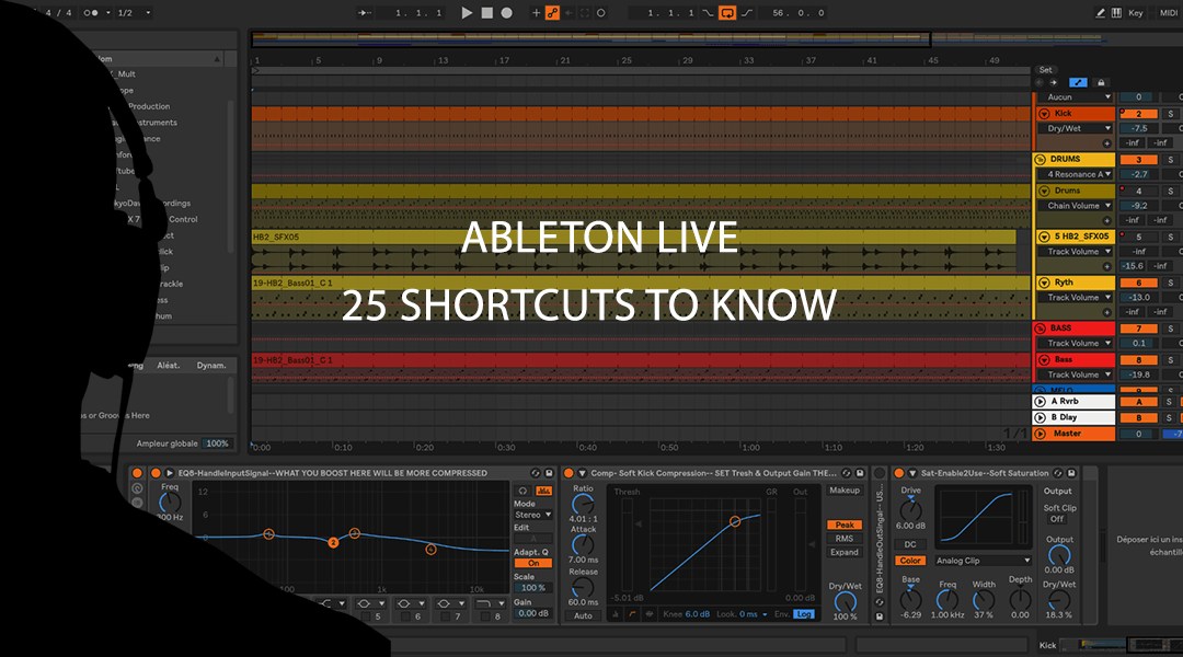 Ableton Live : 25 most useful shortcuts