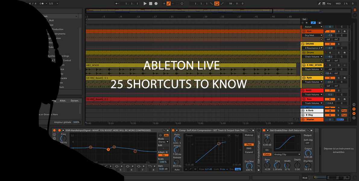 Ableton Live 25 shortcuts to know - Musitechnic blog