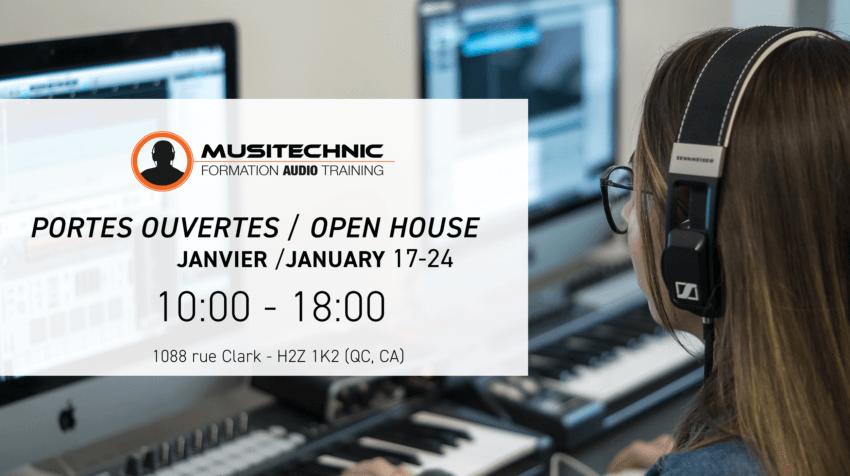Journées portes ouvertes Musitechnic 17 et 24 janvier 2020