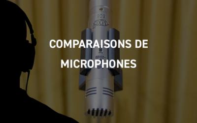 Comparaisons de microphones