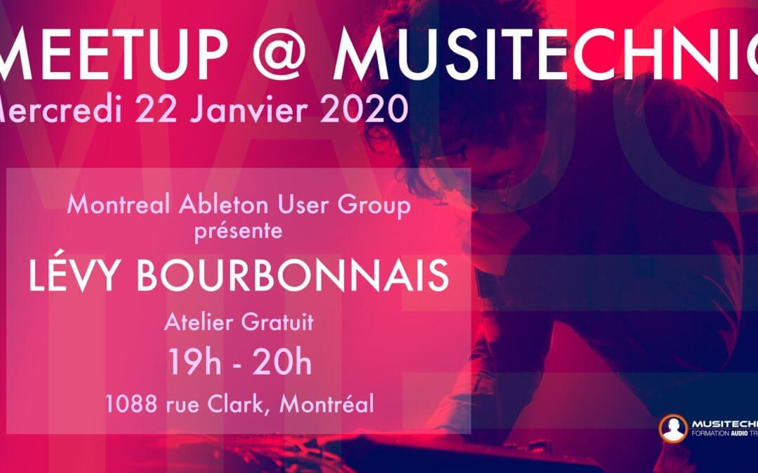 MAUG Meetup – Lévy Bourbonnais