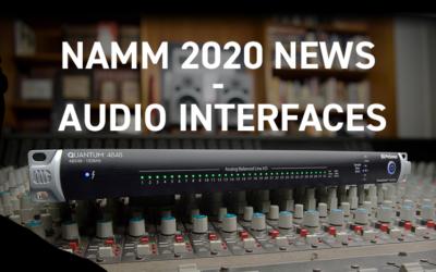 Nouveautés NAMM 2020 – Interfaces Audio