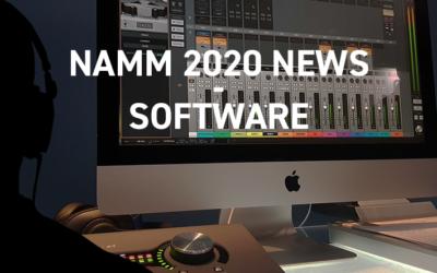 NAMM 2020 – Logiciels