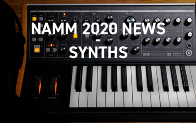 NAMM 2020 – Synthétiseurs