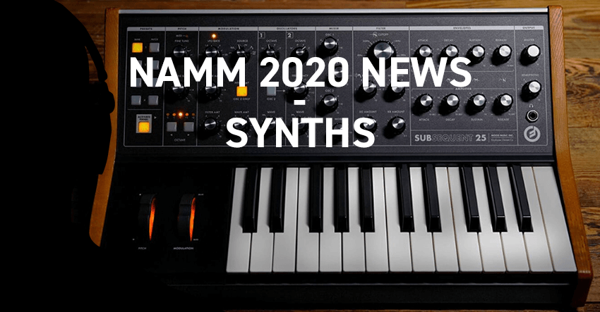 Namm 2020 New Synths