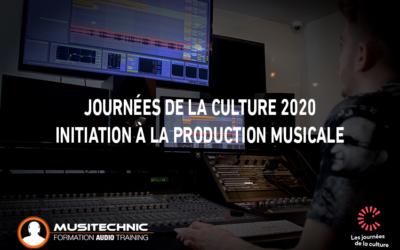 Journées de la Culture 2020