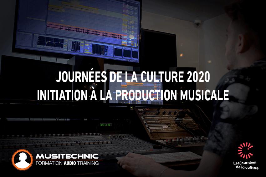 Musitechnic aux Journées de la Culture 2020