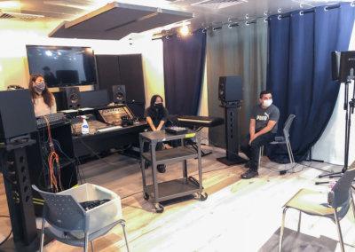 Course Radio Broadcast Musitechnic Studio Régie