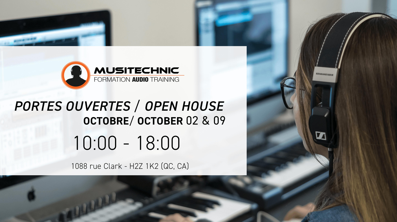 Portes Ouvertes - Open House - Musitechnic
