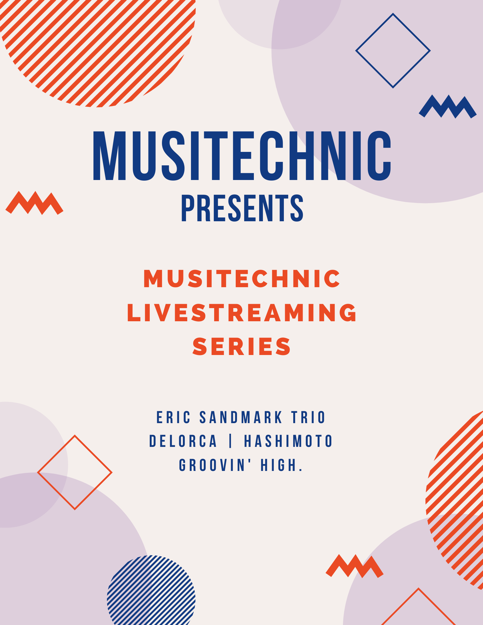 Musitechnic Live Streaming series