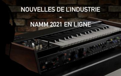 Nouvelles de l'industrie – NAMM 2021
