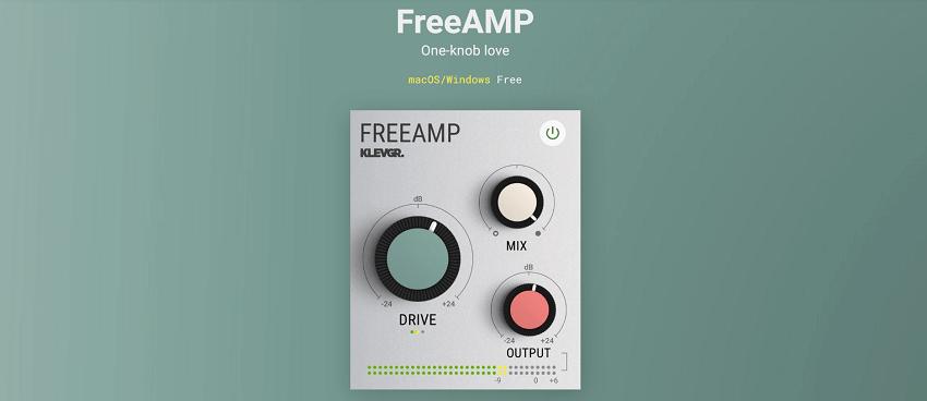 KLEVGR Free Amp plugin