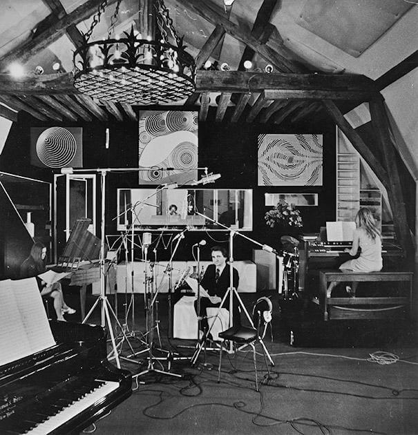 Chateau Herouville Recording Room