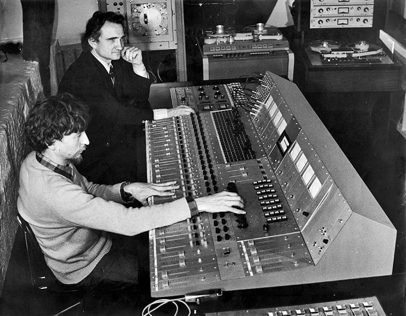 Chateau Herouville Mixing Desk